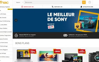 Fnac, le roi du high tech